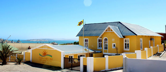 alte loge, alte villa, boutique, guest house, self catering, luderitz, namibia, self catering, accommodation, kayak tours, penguin views, dolphin watching